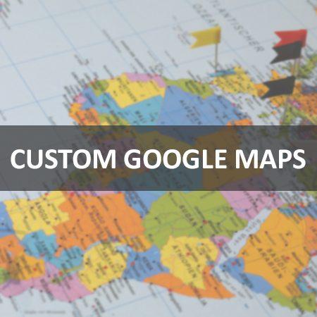 Custom Interactive Maps with Google Maps AP