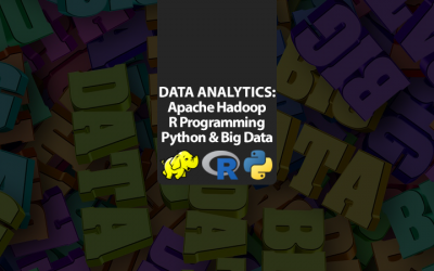 Data & Analytics: Apache Hadoop, R Programming, Python & Big Data