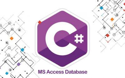 C# MS Access Database Tutorial
